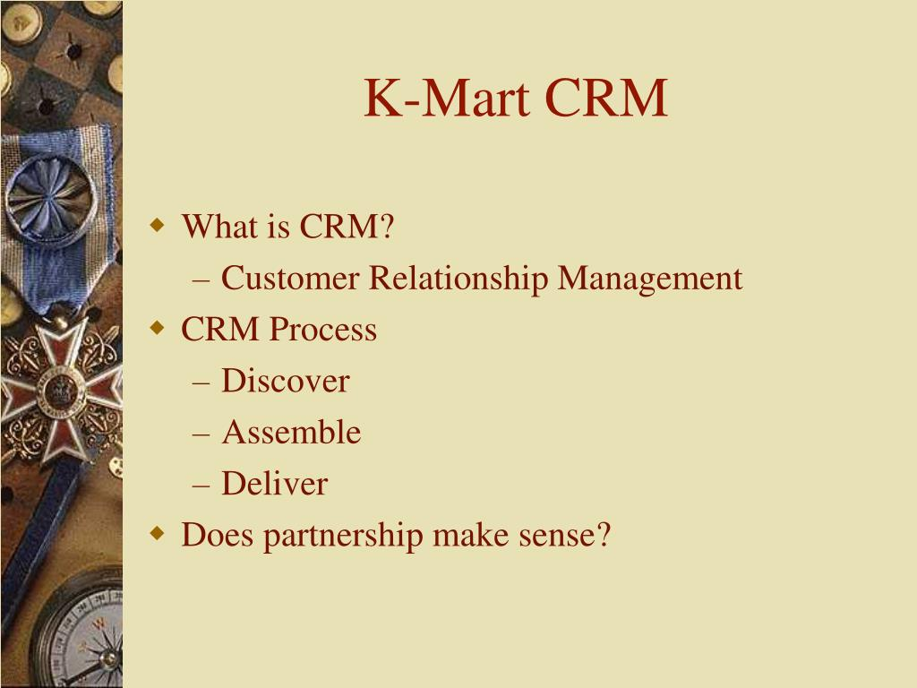 K-Mart CRM
