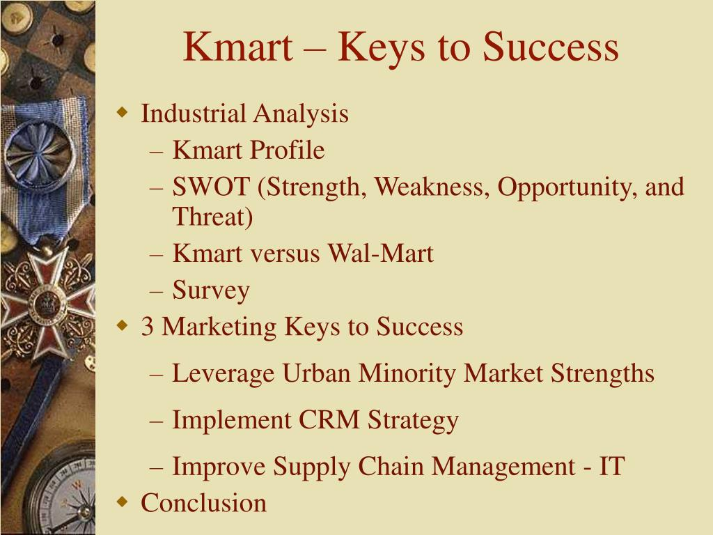 Kmart – Keys to Success