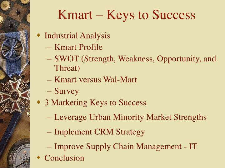 Kmart keys to success