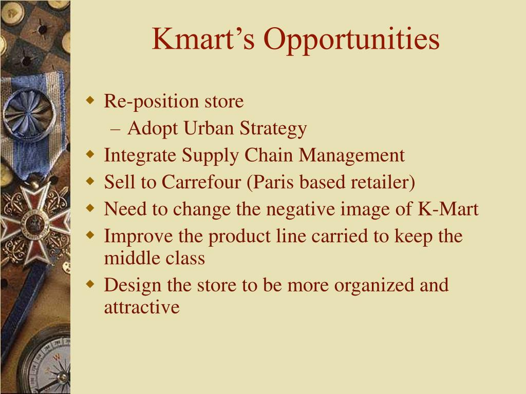 Kmart's Opportunities