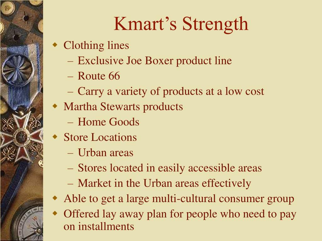 Kmart's Strength