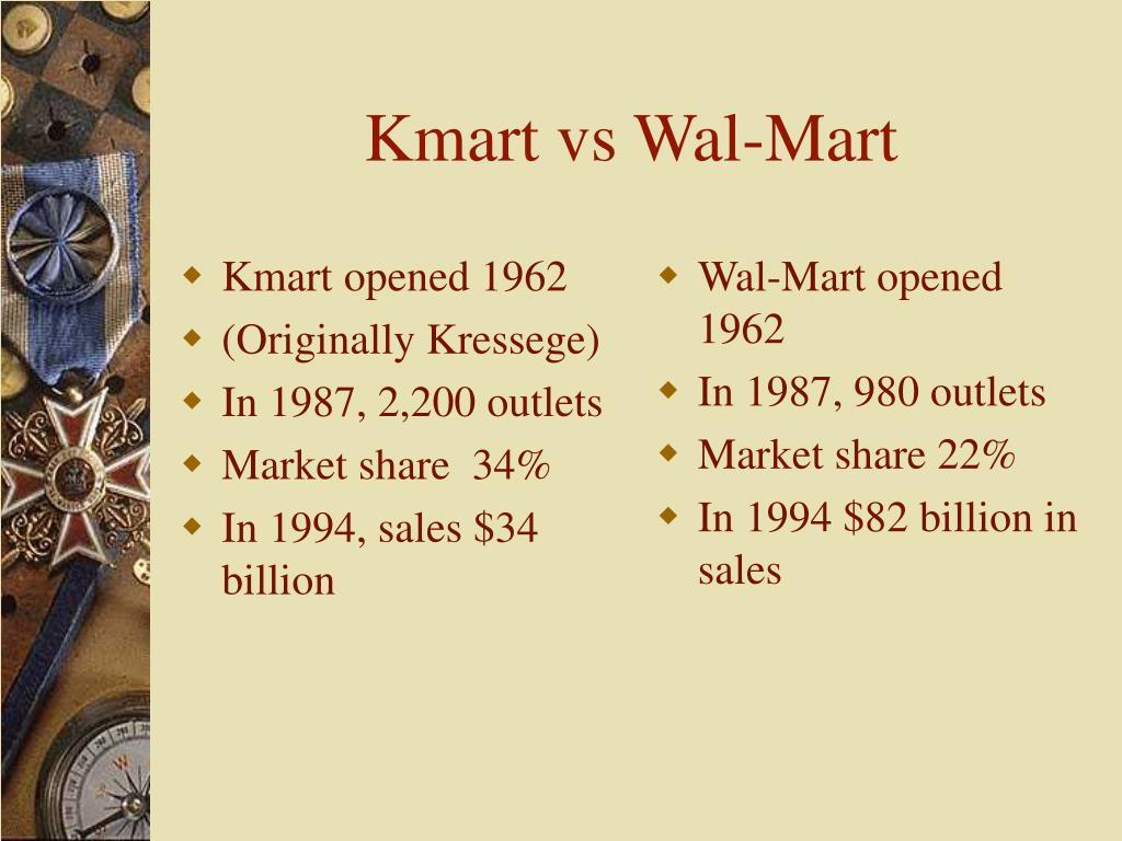 Kmart opened 1962
