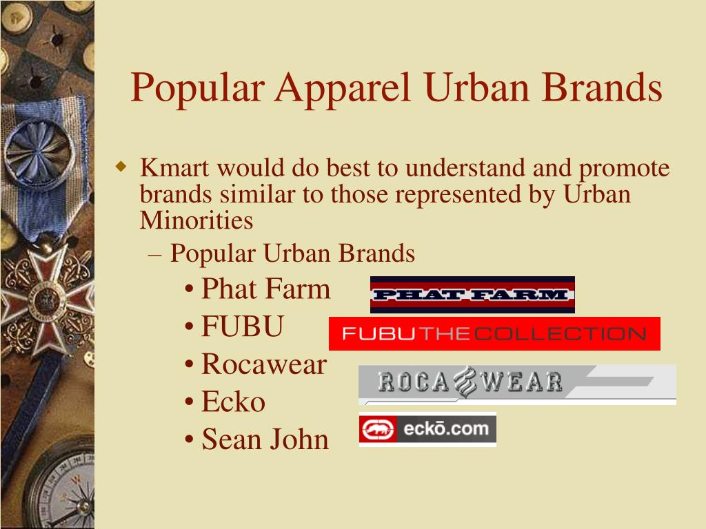 Popular Apparel Urban Brands