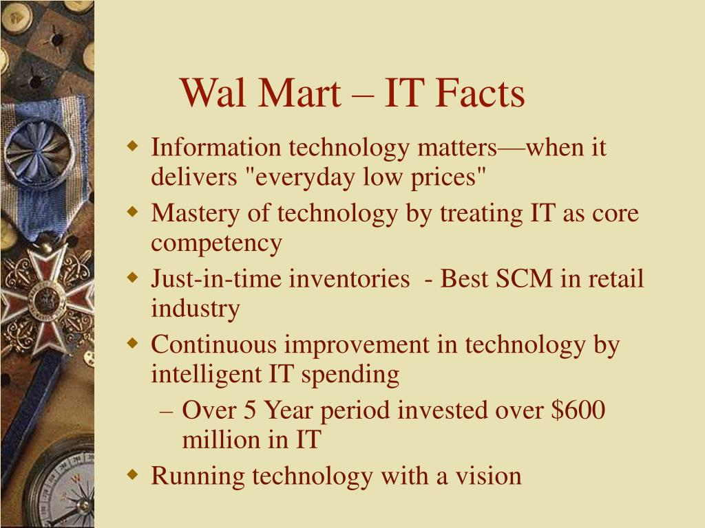 Wal Mart – IT Facts