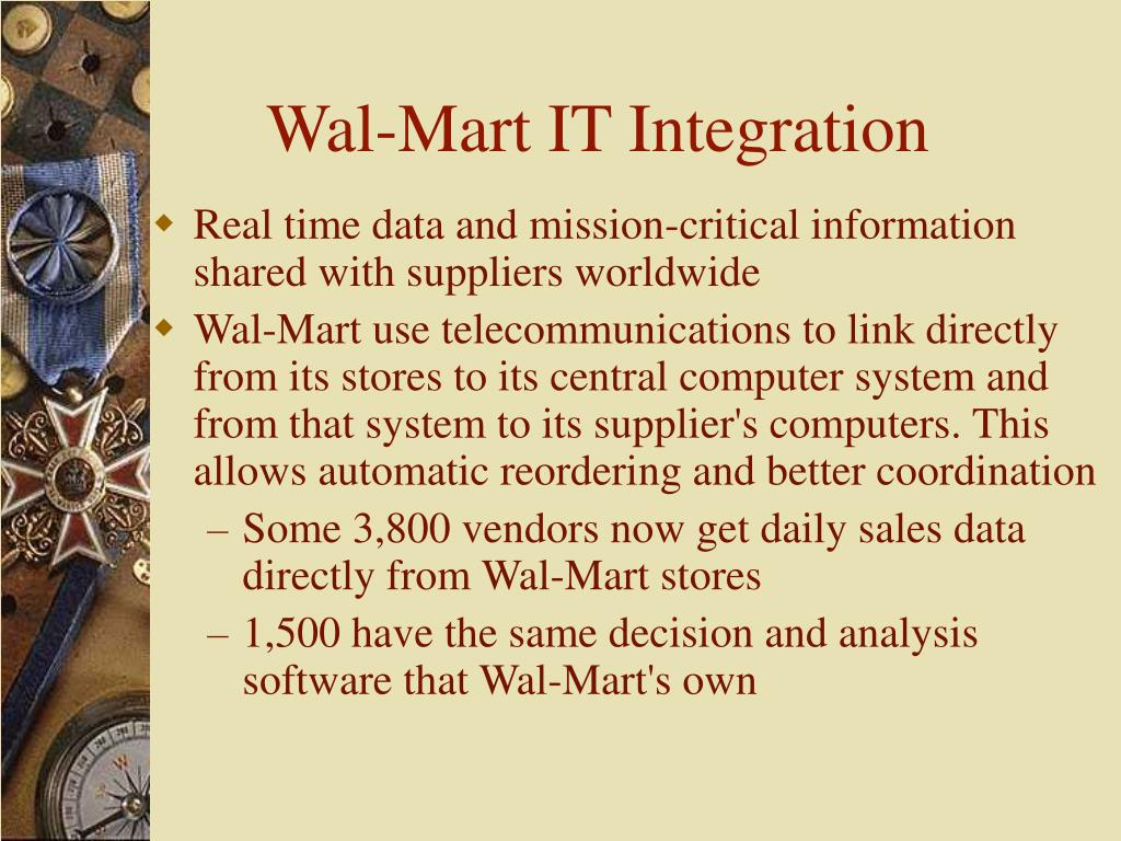 Wal-Mart IT Integration