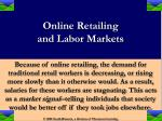 online retailing and labor markets18