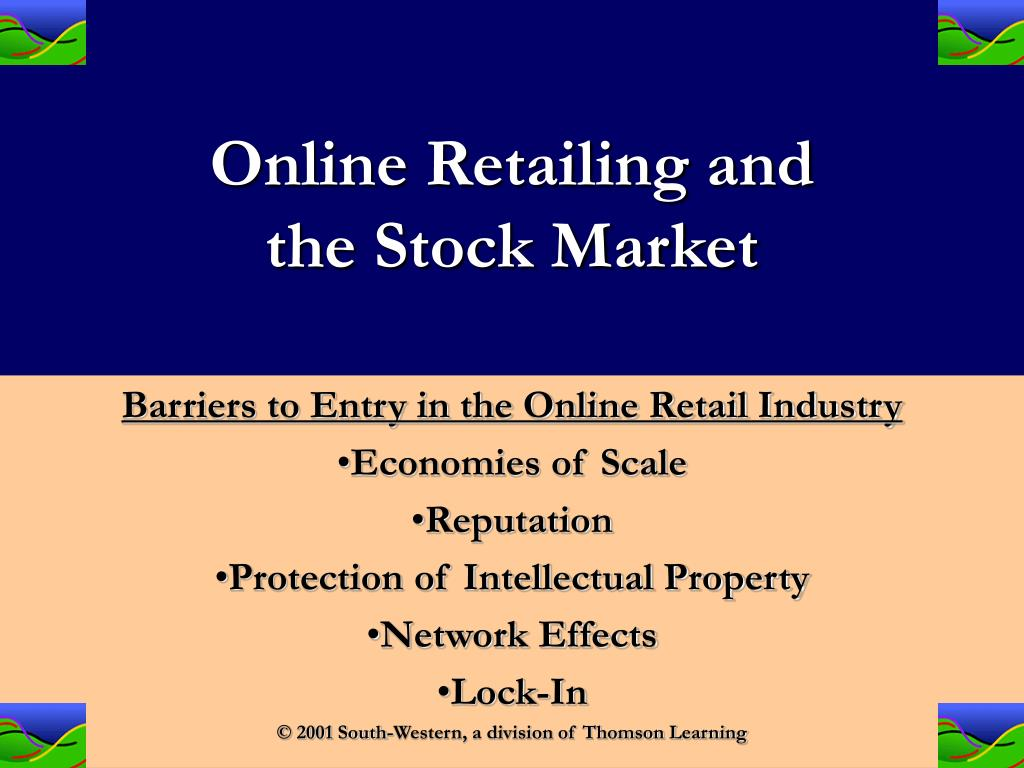 Online Retailing and