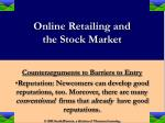online retailing and the stock market26