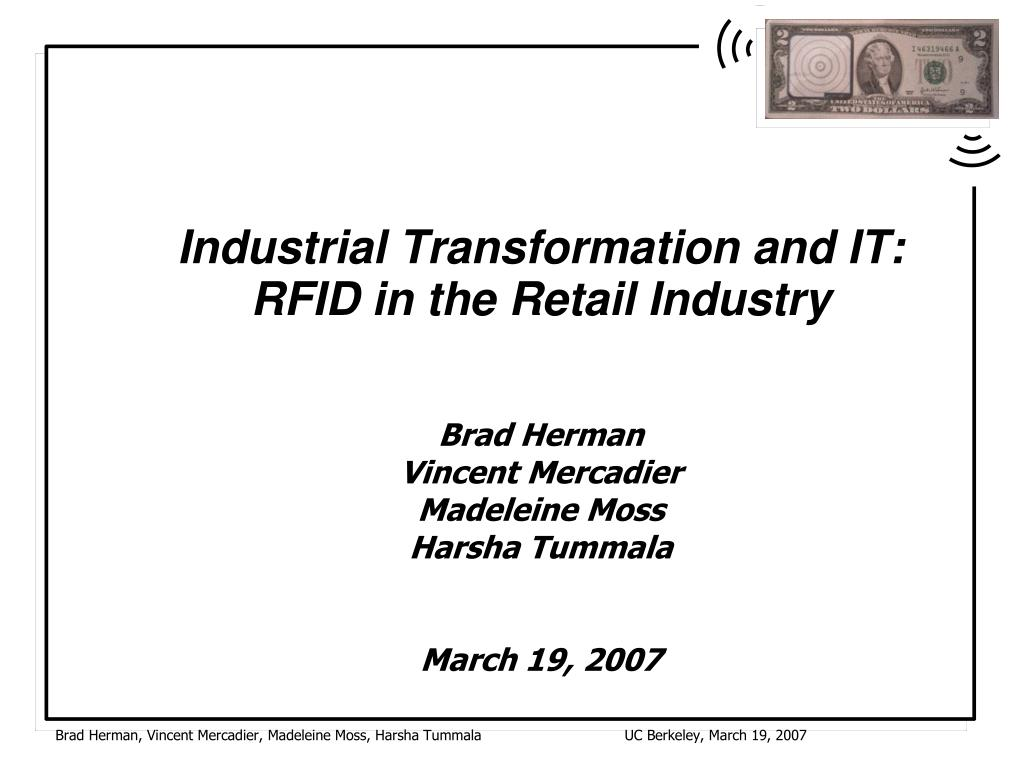 Industrial Transformation and IT: