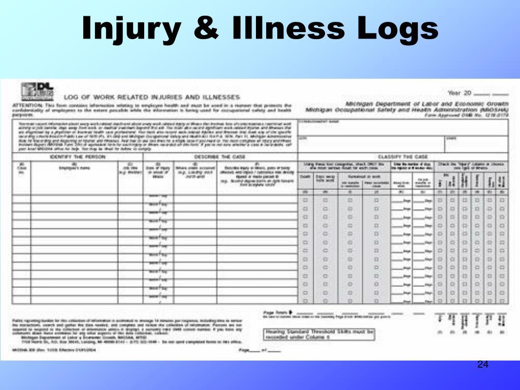 Injury & Illness Logs