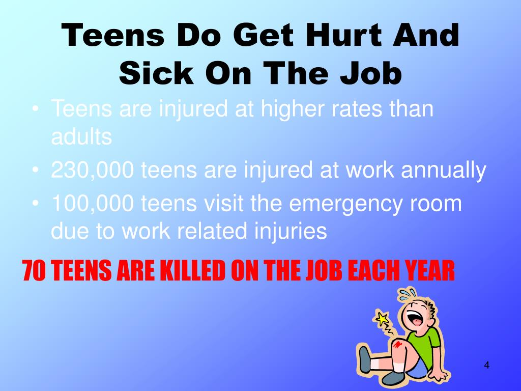 Teens Do Get Hurt And