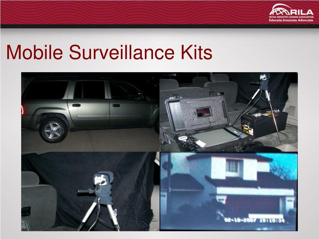 Mobile Surveillance Kits