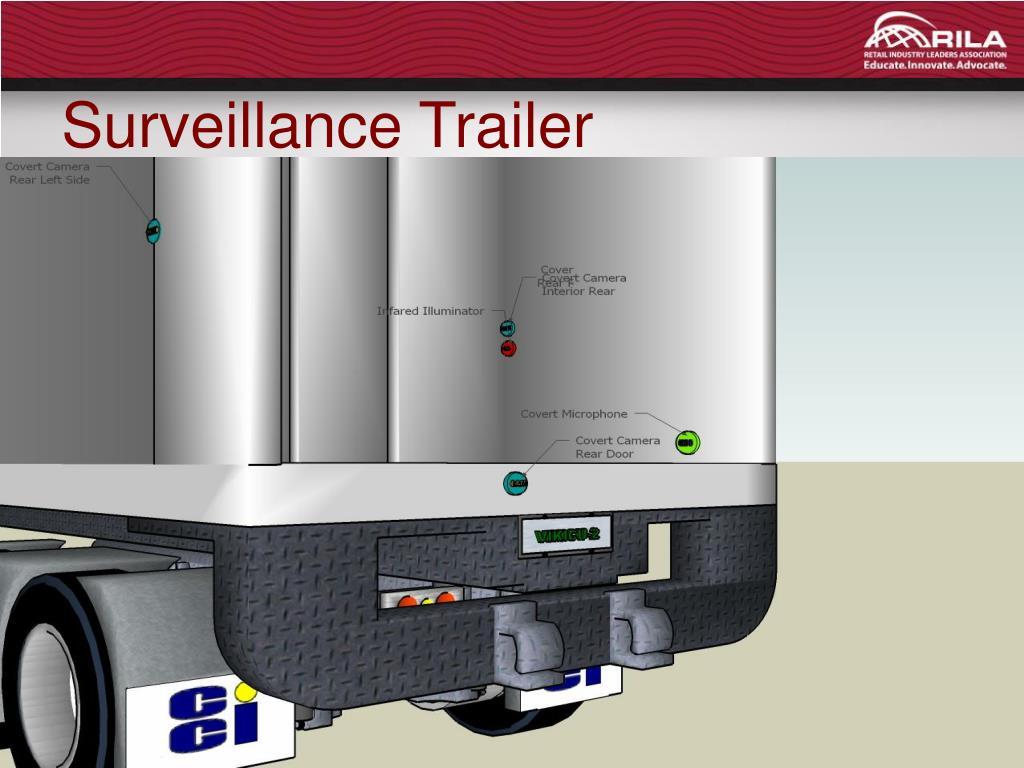 Surveillance Trailer