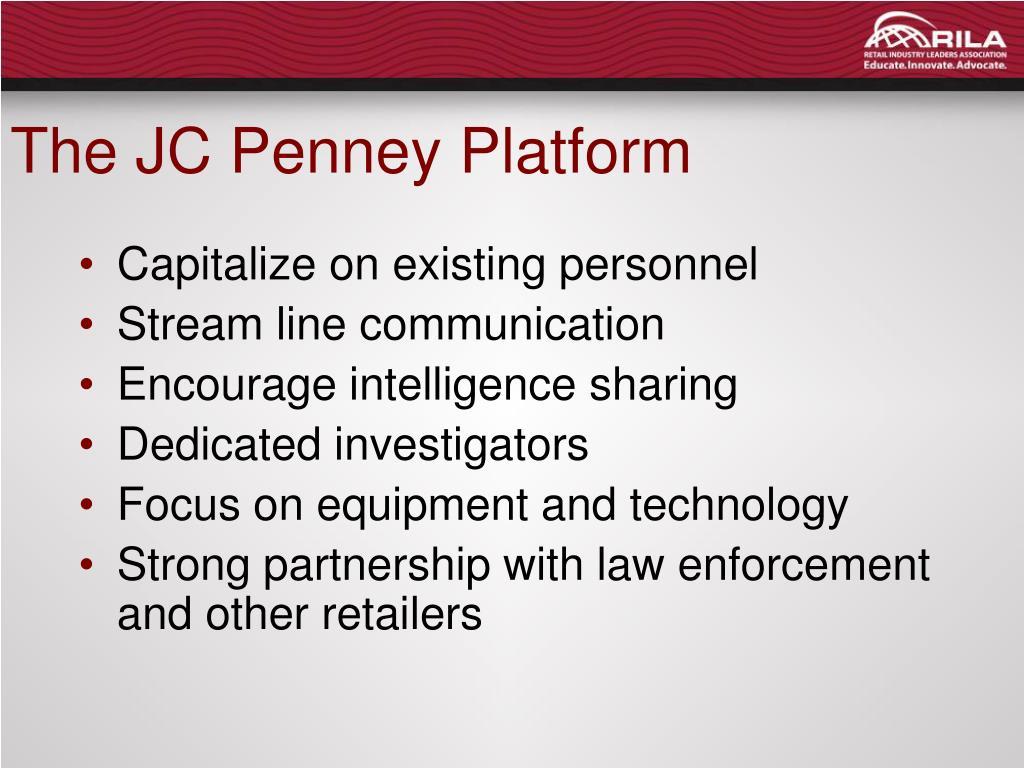 The JC Penney Platform