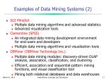 examples of data mining systems 2