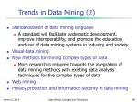 trends in data mining 2