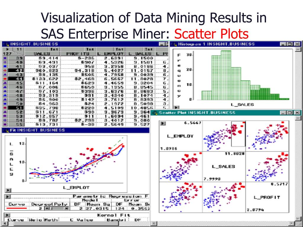 Visualization of Data Mining Results in SAS Enterprise Miner: