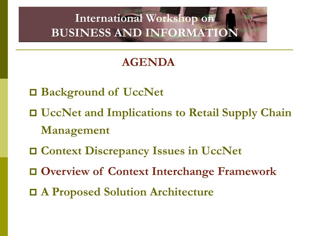 International Workshop on