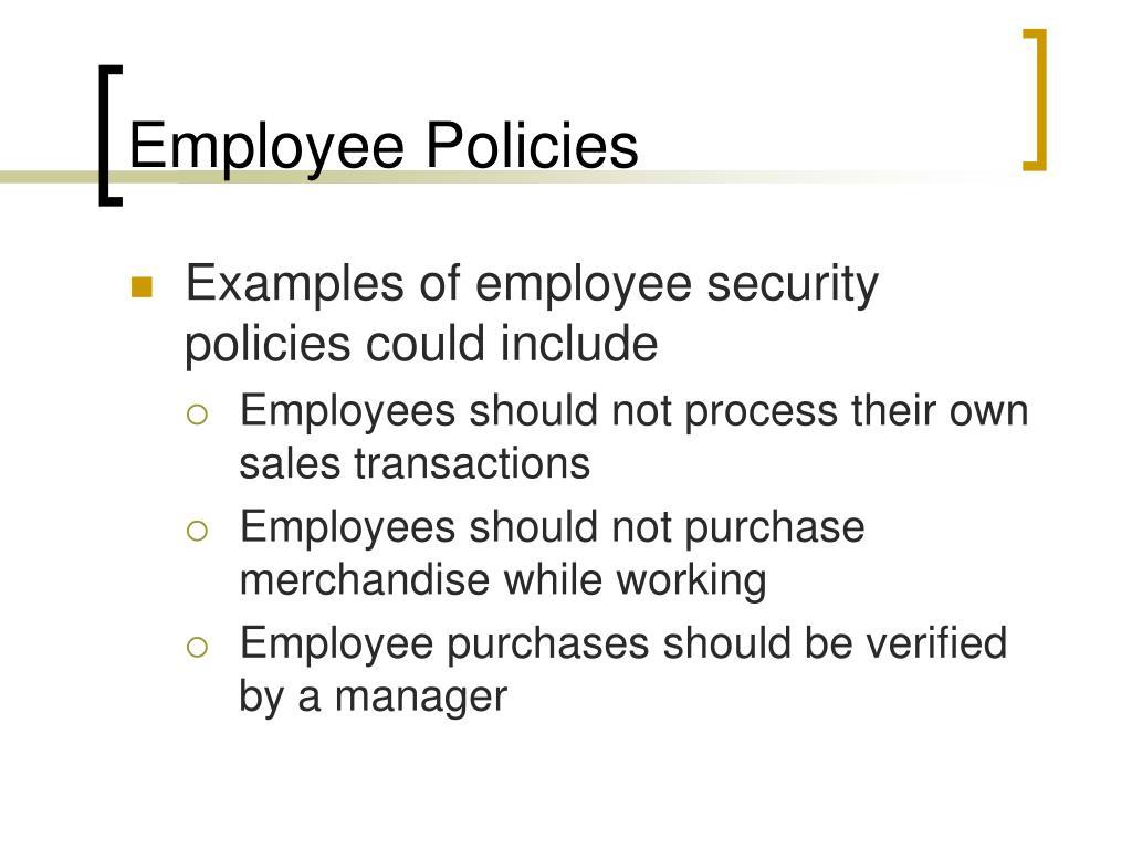Employee Policies