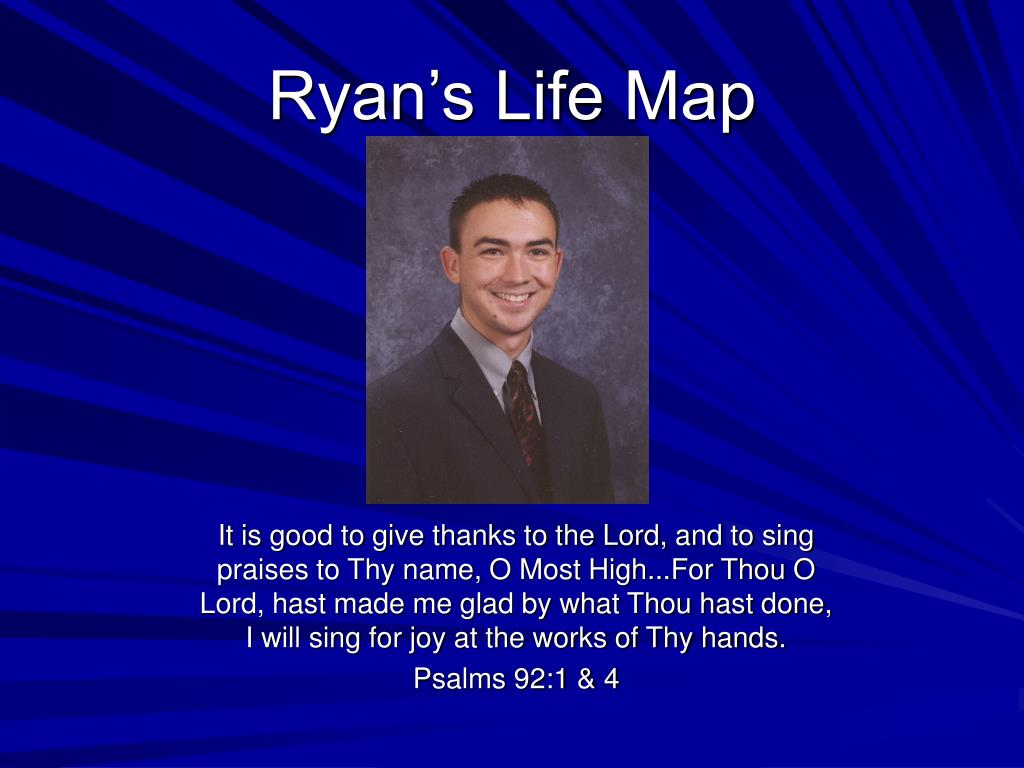 ryan s life map