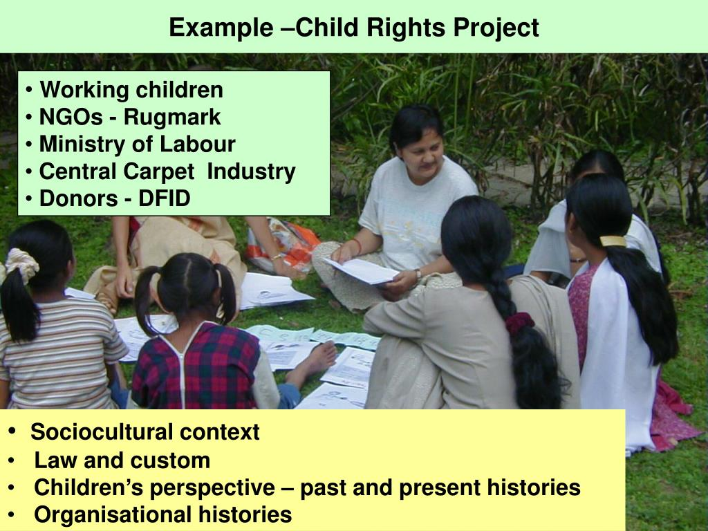 Example –Child Rights Project