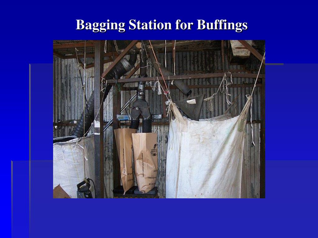 Bagging Station for Buffings