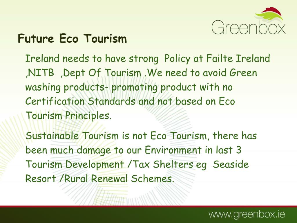 Future Eco Tourism