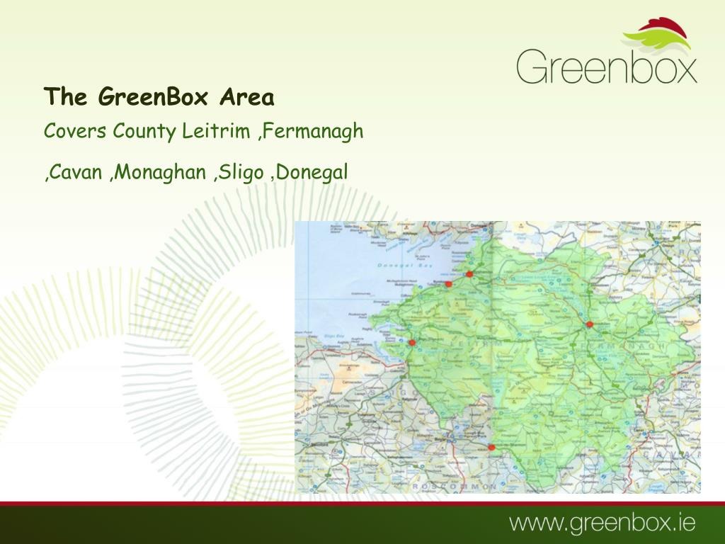 The GreenBox Area