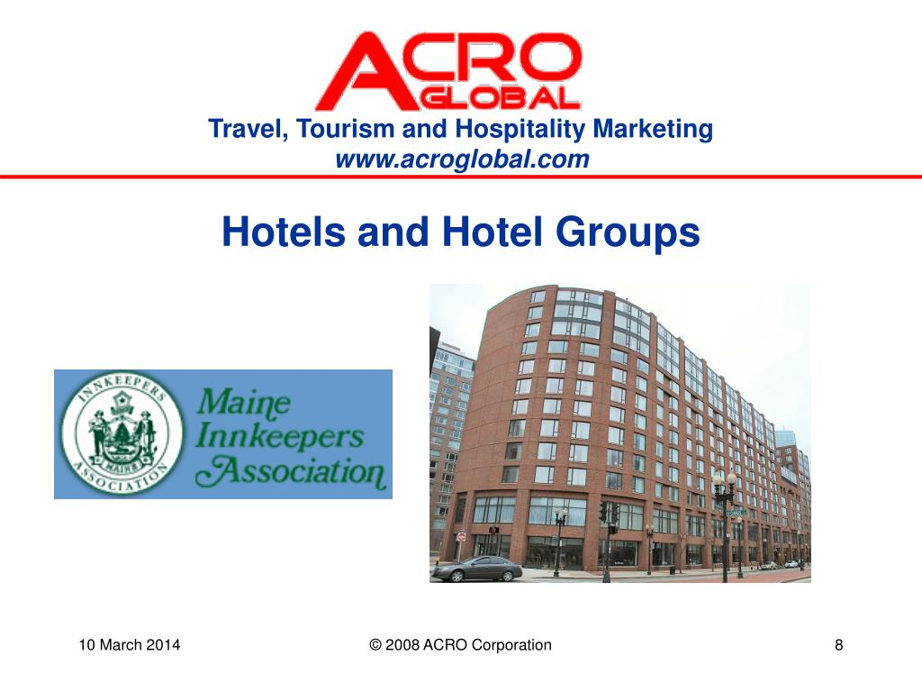 Hotels and Hotel Groups