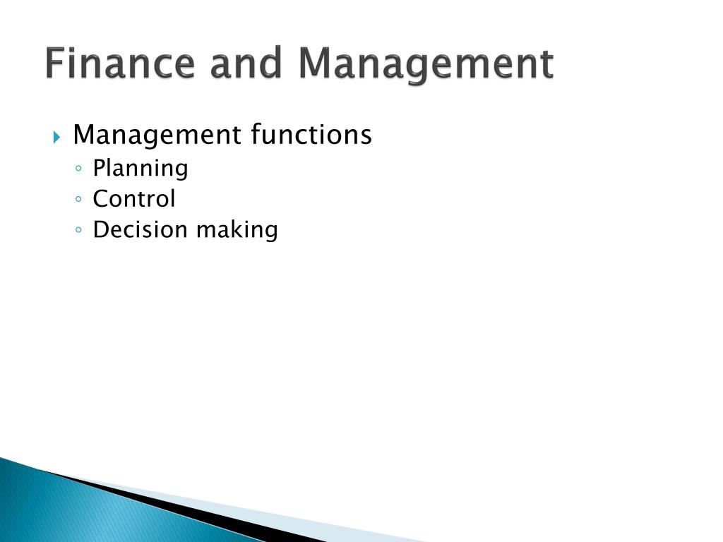 the role of finance management The nature and purpose of financial management financial management is concerned with the efficient acquisition and deployment of both short- and long-term.
