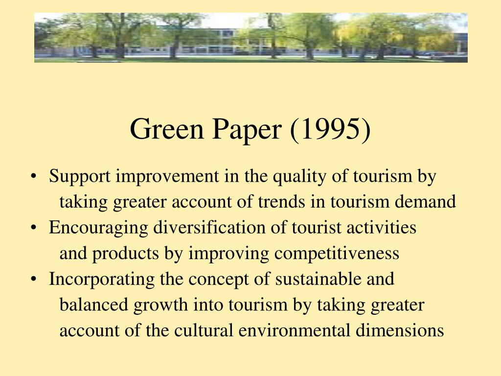 Green Paper (1995)