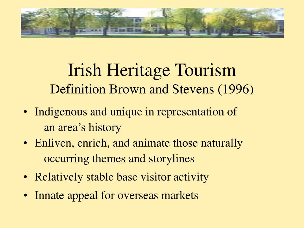 Irish Heritage Tourism