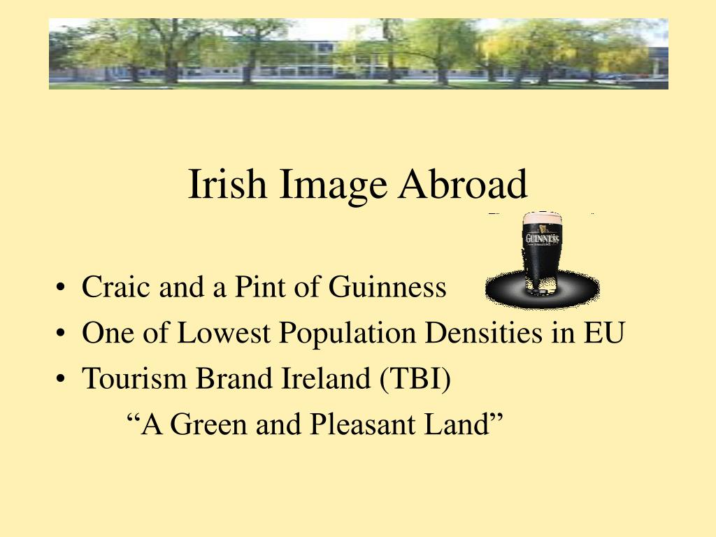 Irish Image Abroad
