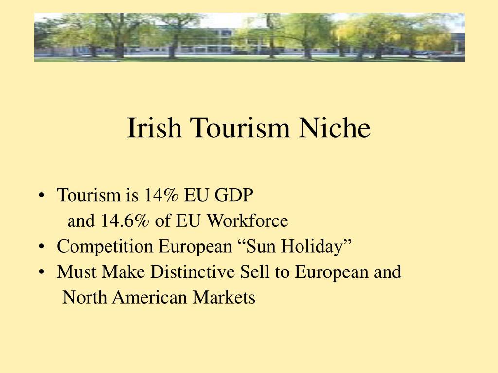 Irish Tourism Niche