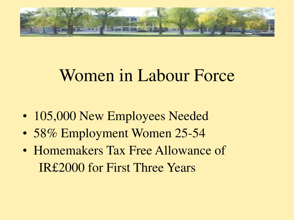 Women in Labour Force