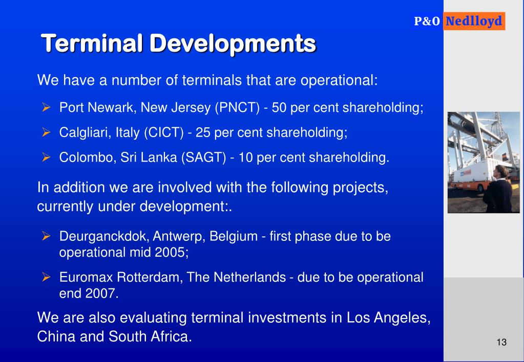 Terminal Developments