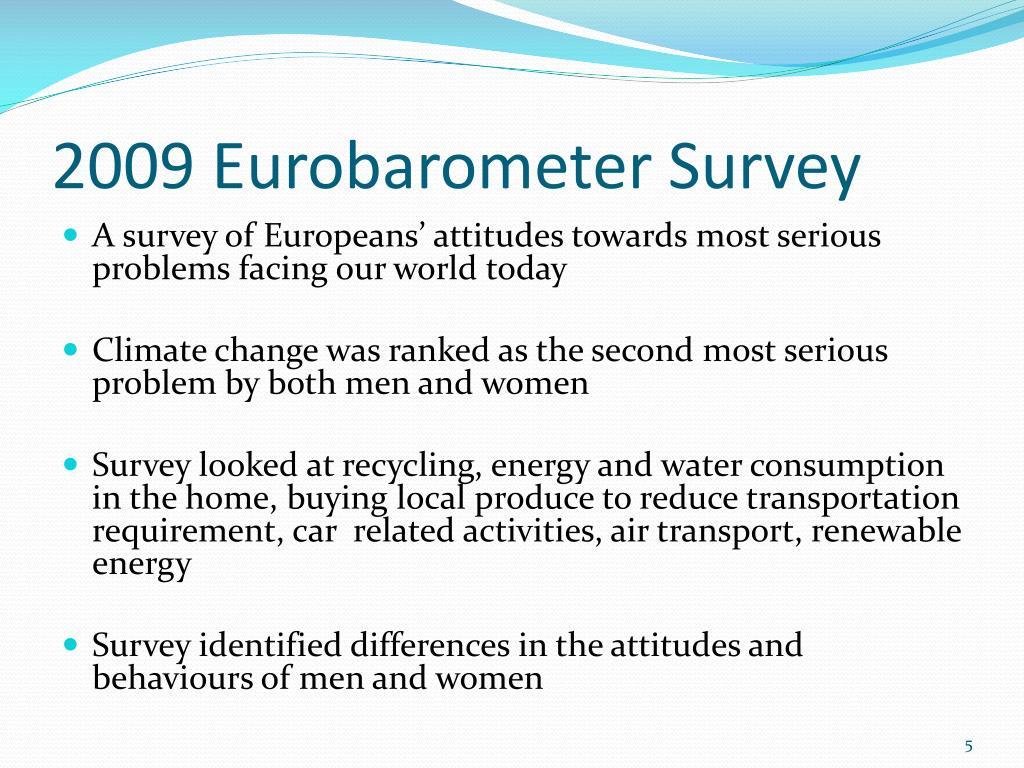2009 Eurobarometer Survey