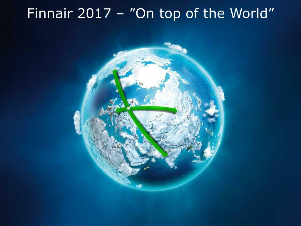 "Finnair 2017 – ""On top of the World"""