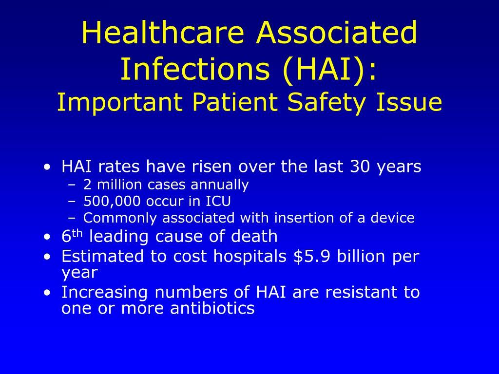 healthcare associated infections essay