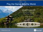 play the game see the world24