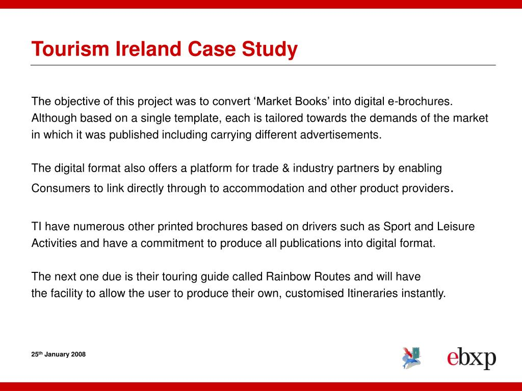 Tourism Ireland Case Study
