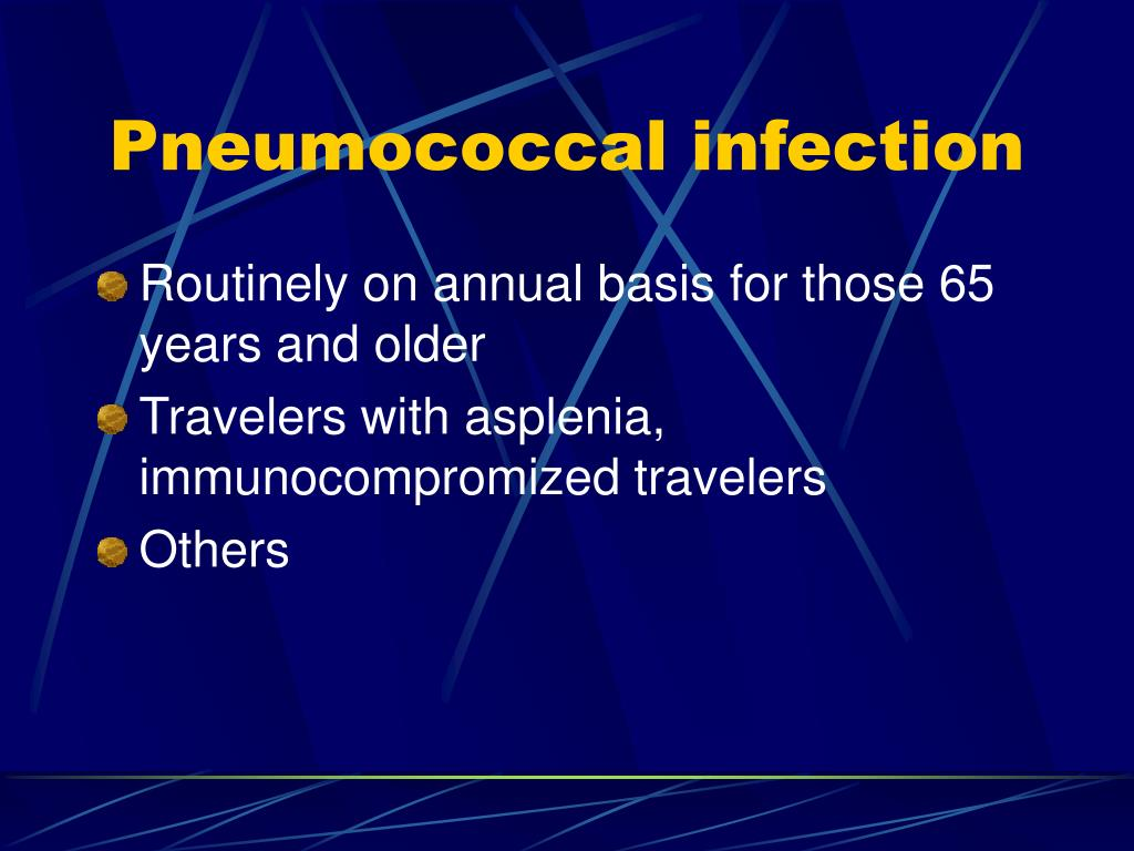 Pneumococcal infection