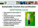 sustainable tourism eco certification10