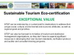sustainable tourism eco certification11