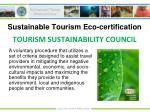 sustainable tourism eco certification5