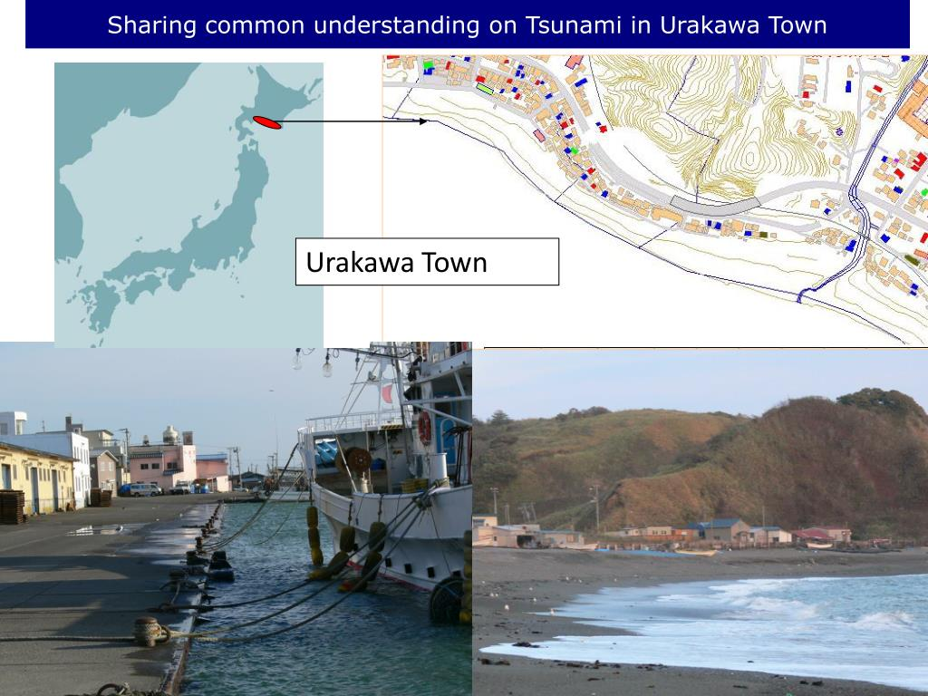 Sharing common understanding on Tsunami in Urakawa Town