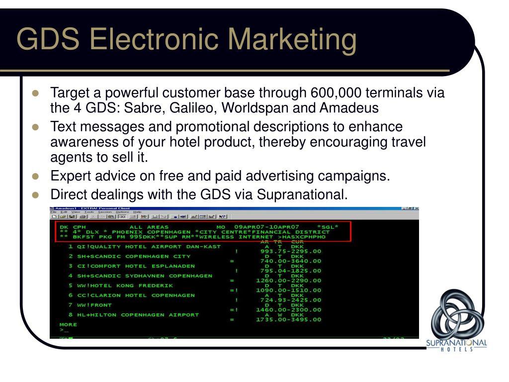 GDS Electronic Marketing