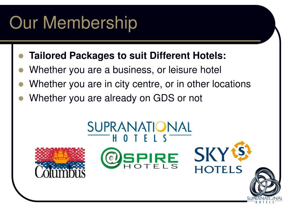 Our Membership