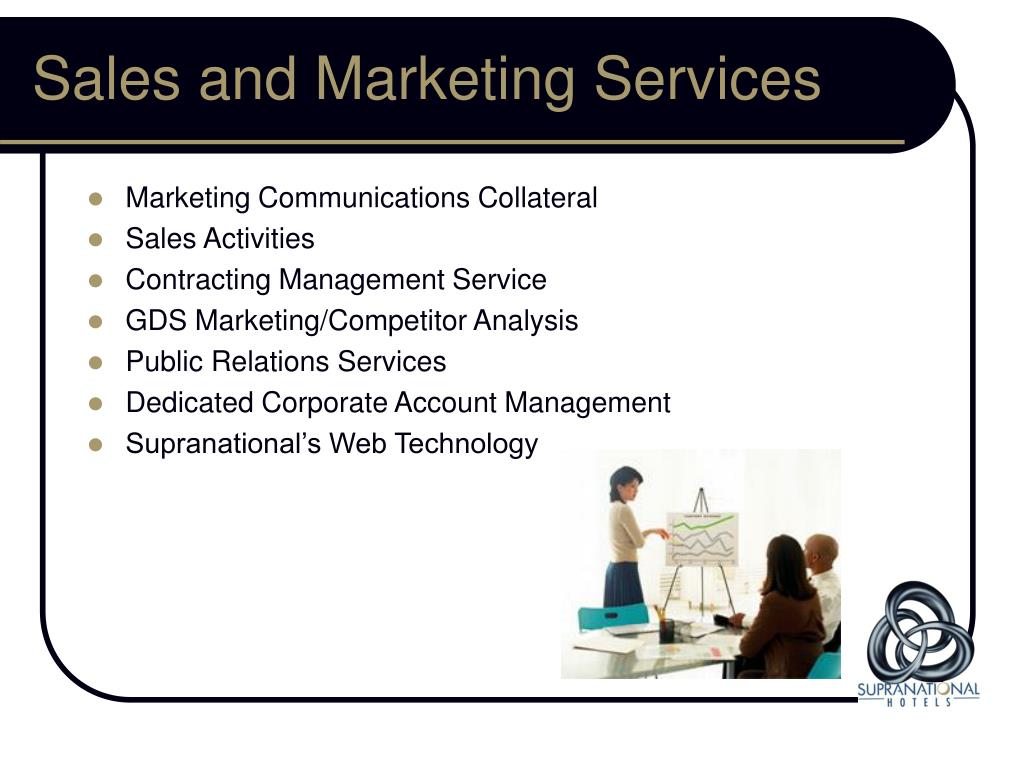 Sales and Marketing Services