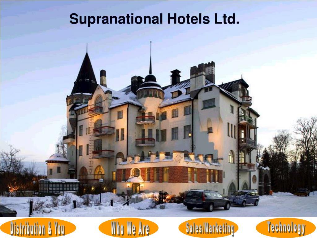 Supranational Hotels Ltd.
